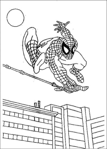new-spiderman-coloring-page