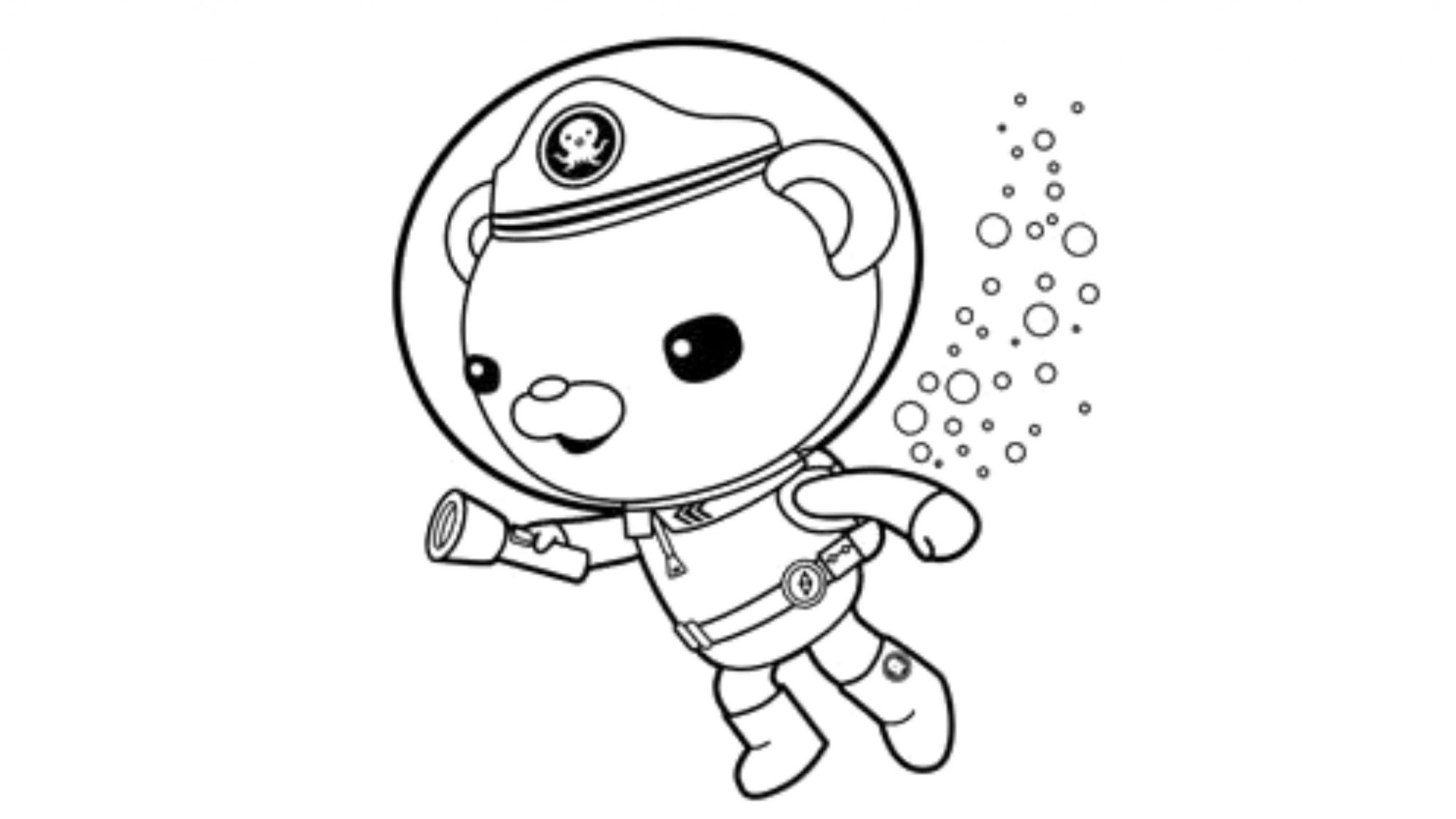 Print Download Octonauts Coloring Pages For Your Kid