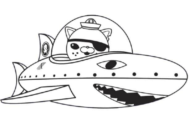 Octonauts Colouring In Pages Online 1