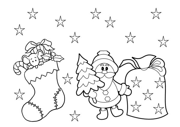 christmas coloring pages printable free # 82