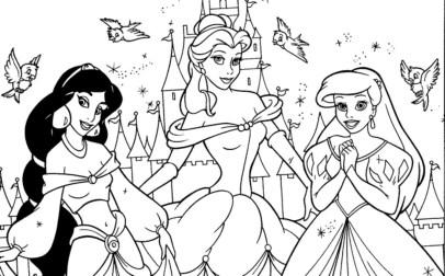 princess-color-pages