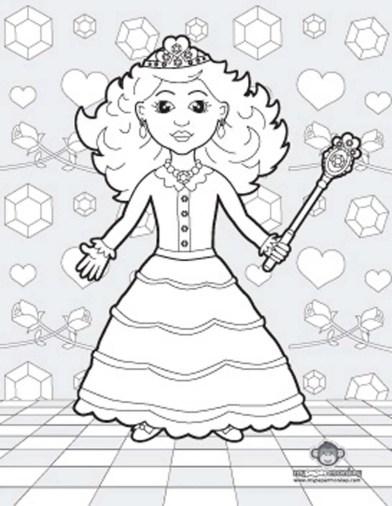 princess-tiana-coloring-pages