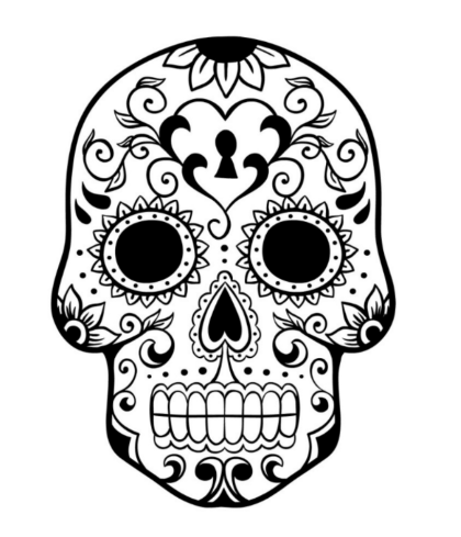simple-sugar-skull-coloring-pages