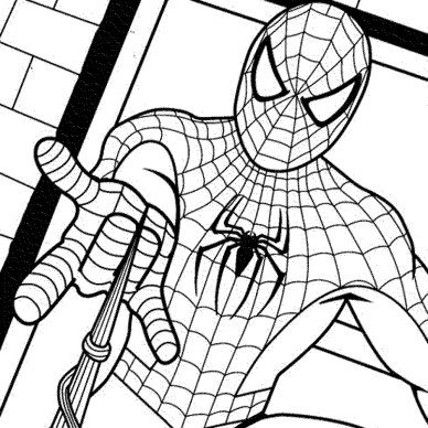 spectacular-spiderman-coloring-pages