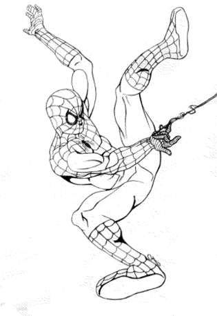 spiderman-4-coloring-pages