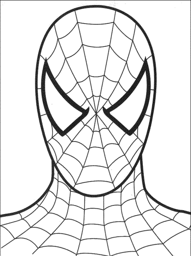 spiderman-free-coloring-pages