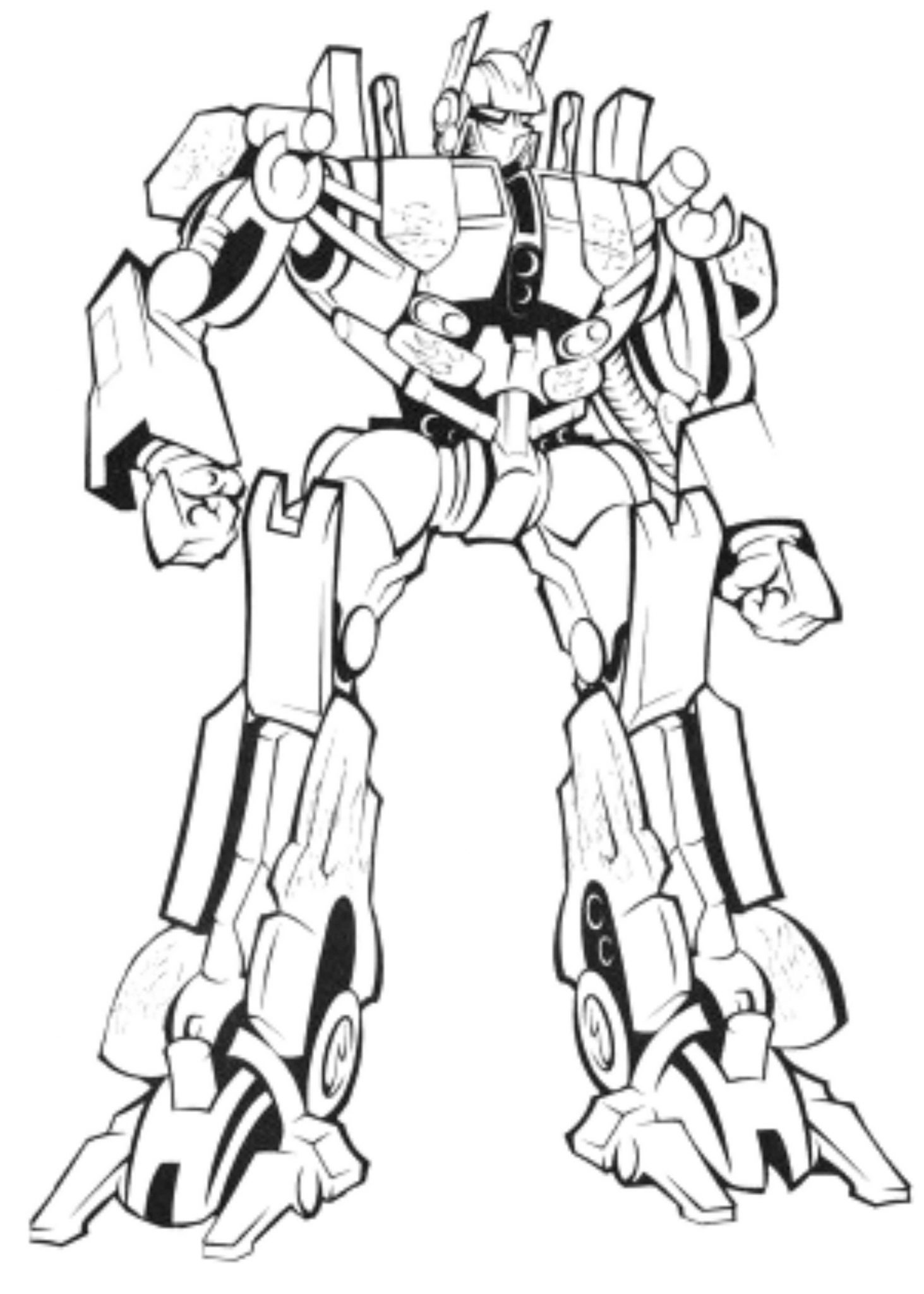 Transformers Prime Coloring Pages Online