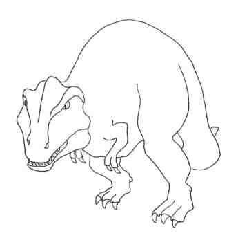 tyrannosaurus-rex-coloring-pages
