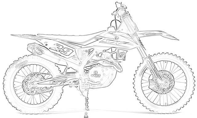 17 Free Dirt Bike Coloring Pages for Kids  Save, Print, & Enjoy!