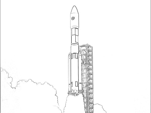 rocket ship coloring pages # 72
