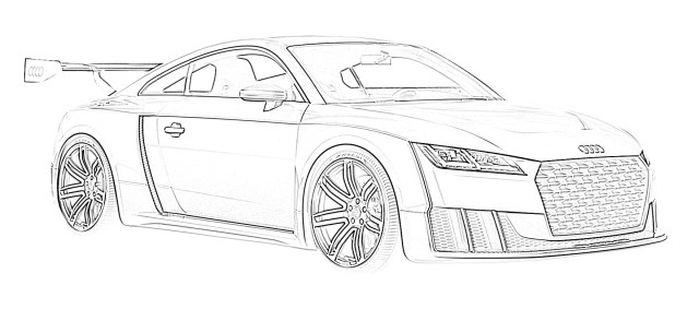22 Free Sports Car Coloring Pages for Kids  Save, Print, & Enjoy!