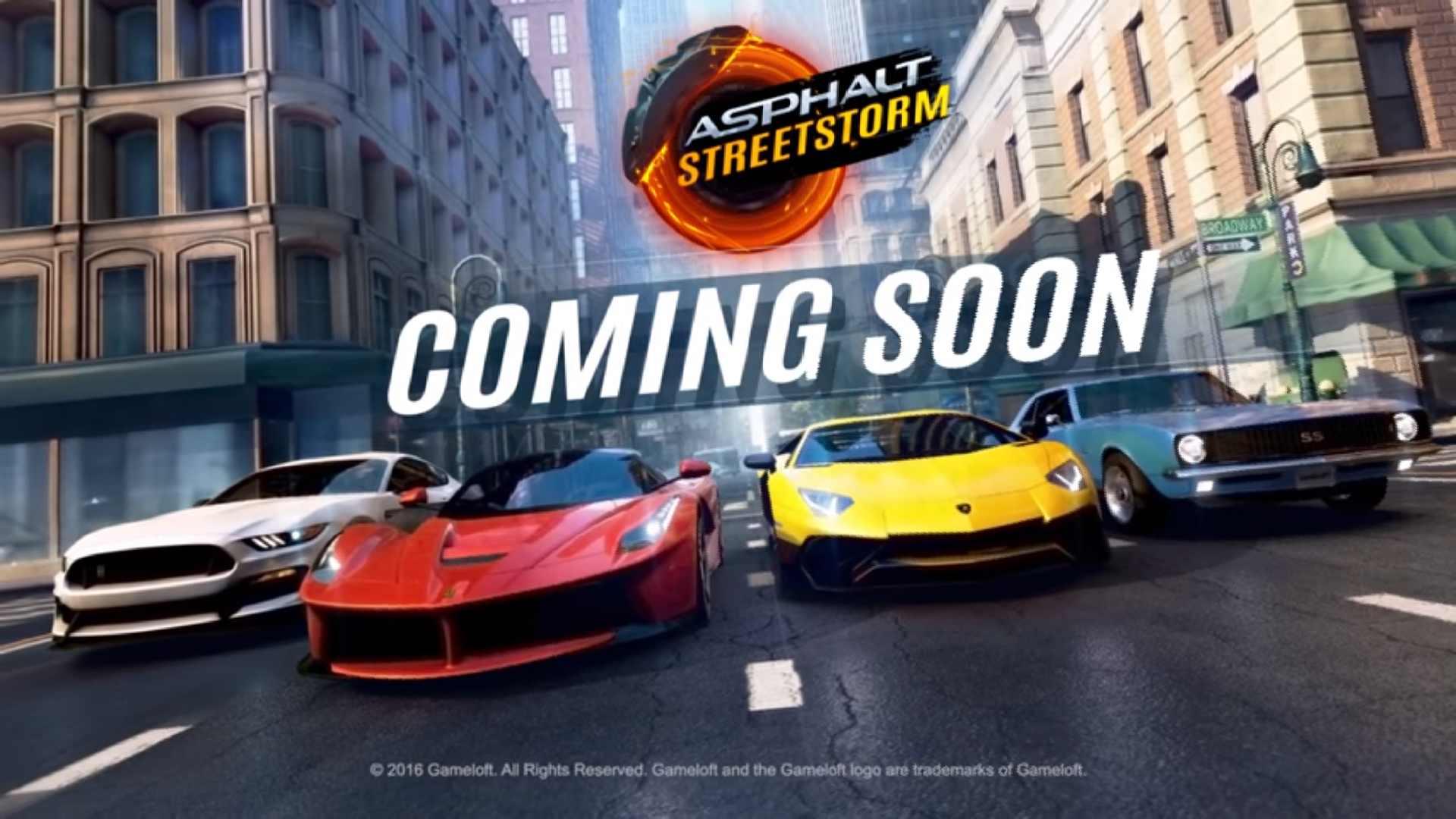 تحميل لعبة Asphalt Street للاندرويد والايفون مجانا وبرابط مباشر