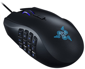 Razer Naga Chroma - Ergonomic RGB MMO Gaming Mouse