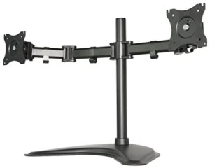 VIVO V002P Fully Adjustable Free Standing Monitor Mount Stand
