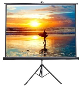 VIVO 100-inch Portable Indoor Outdoor Projector Screen