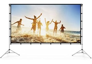 Vamvo 120-inch Easy Projector Screen