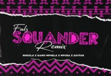 MUSIC: Falz - Squander (Remix) Ft. Niniola & Sayfar