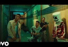 VIDEO: Marshmello - Leave Before You Love Me Ft. Jonas Brothers
