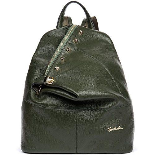 BOSTANTEN Women Leather Backpack Purse