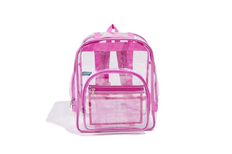 Industrial Grade Freeze Proof PVC Heavy Duty Clear Backpack