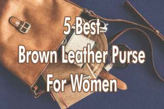 5-Best-Brown-Leather-Purse-For-Women