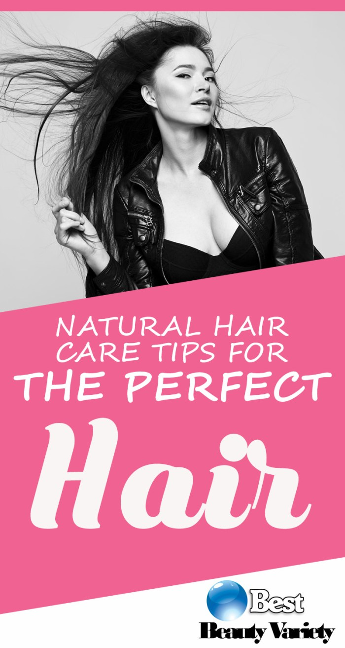 Natural Hair Care Tips For The Perfect Hair
