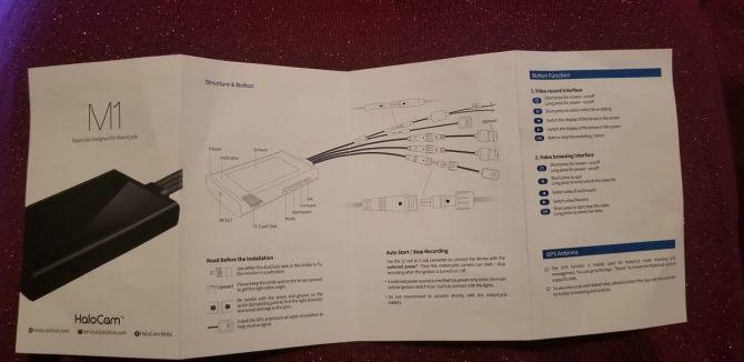 HaloCam M1 Dashcam Instruction Manual