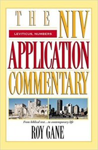 Roy Gane Leviticus Numbers commentary