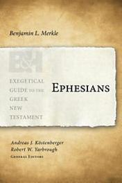 ephesians commentary book cover