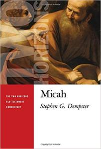 micah commentary book cover