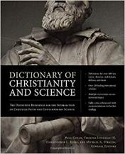 dictionary Christianity science book cover