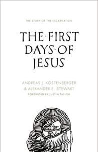 first days of jesus book cover