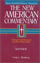 matthew commentary blomberg