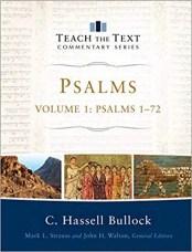 psalms commentary bullock