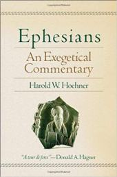 Ephesians commentary by Harold Hoehner