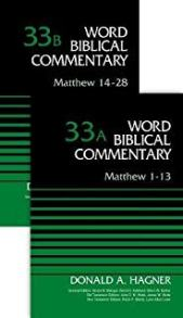 Matthew commentary by Donald Hagner