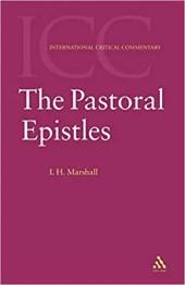 Pastoral Epistles by I. Howard Marshall