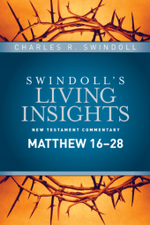 Matthew commentary by Charles Swindoll