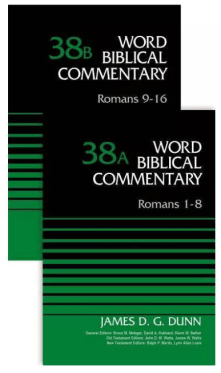Romans commentary by James Dunn