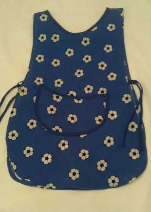 Childrens Blue Football Tabard