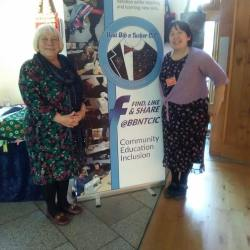 Sandra White MSP with Eileen