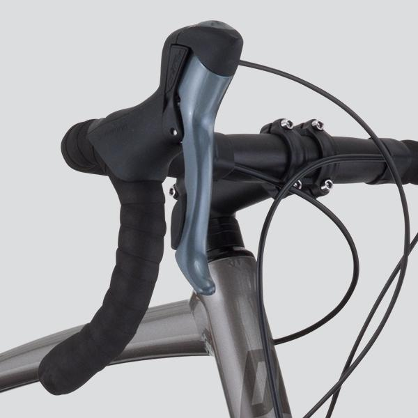 Size-specific handlebars, stem, and cranks