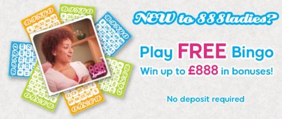 888 Ladies Bingo No Deposit Bonus