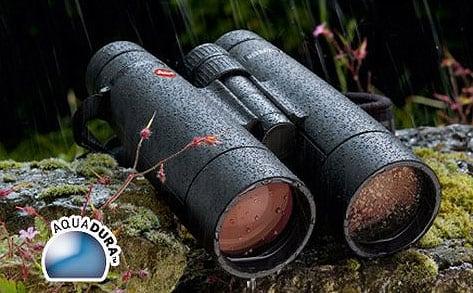 AquaDura Coating on Leica Ultravid Binoculars
