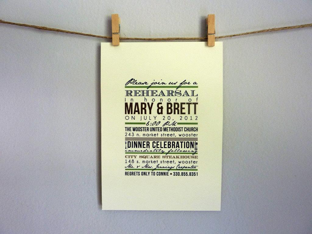 Rustic Wedding Invitation Designs