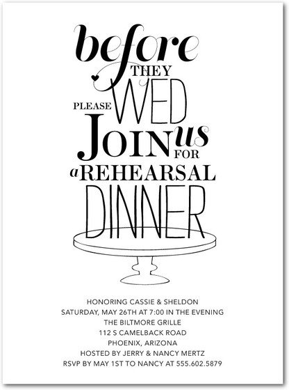 Wedding Rehearsal Dinner Invitations Is One Of The Best Idea To Create Your Invitation With Bewitching Design 19