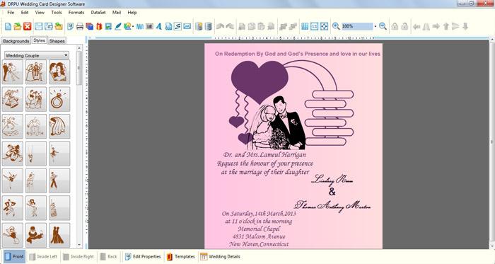 Wedding Card Designer
