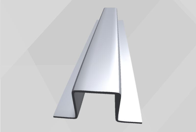 Hat Channel Light Gauge Steel Framing Best Buy Metals