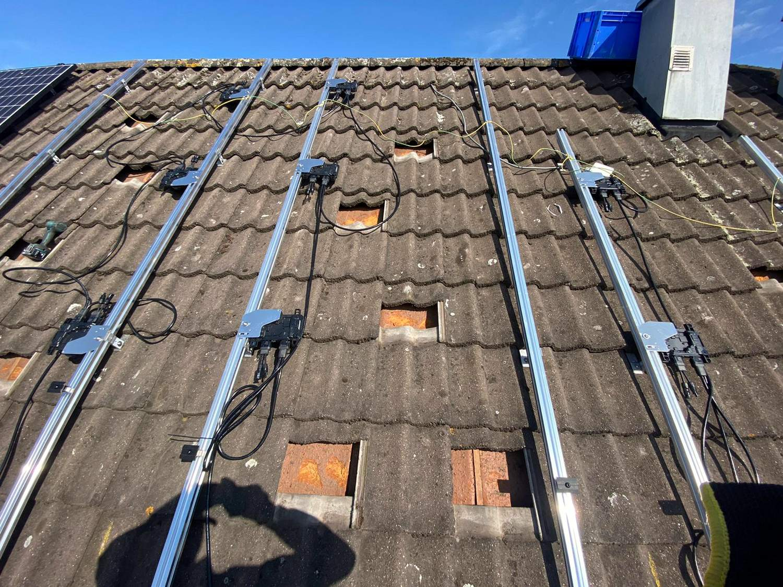 BS109 - Zonnepanelen IJsselstein - Micro omvormers op dak