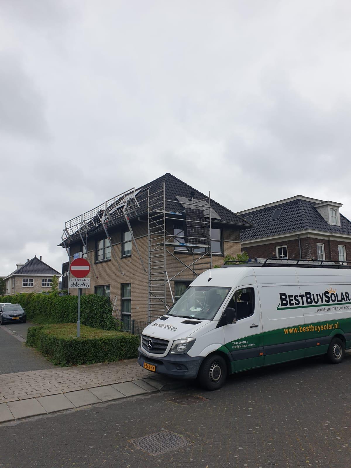 Zonnepanelen Almere Noorderplassen (veiligheid) marifoon